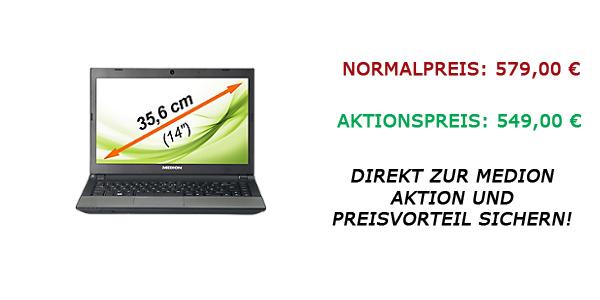 Medion Ultrabook Aktion vom 06.02.2013