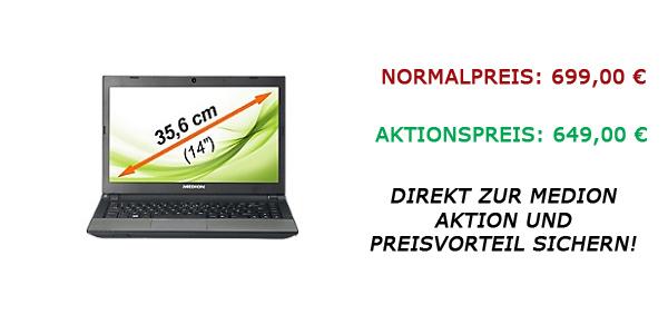 Medion Ultrabook Aktion vom 07.02.2013