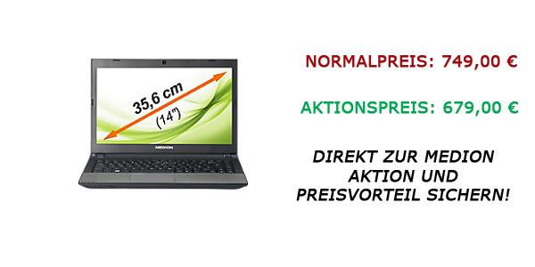 Medion-Ultrabook Aktion vom 08.02.2013